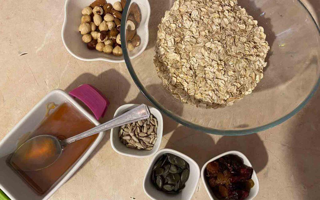 granola recept sastojci
