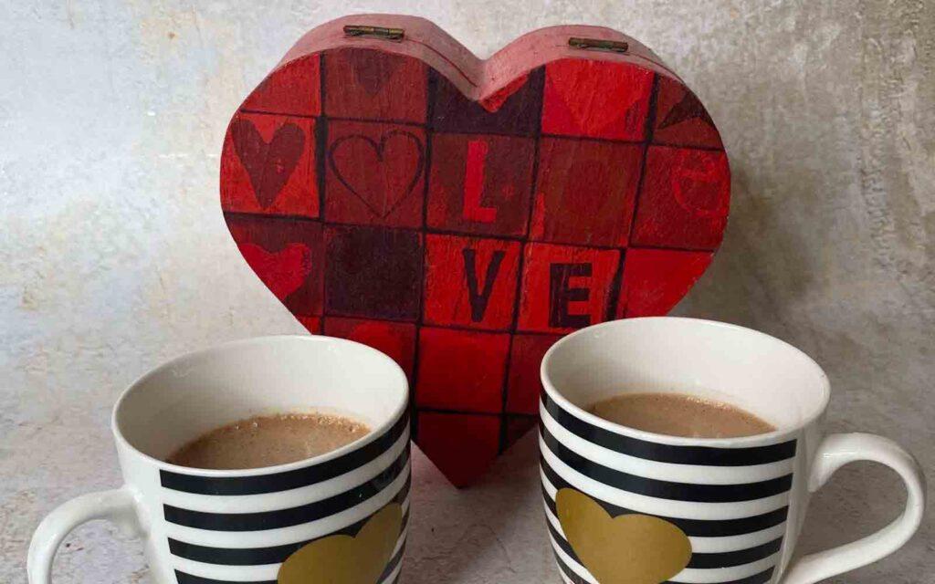topla čokolada srce