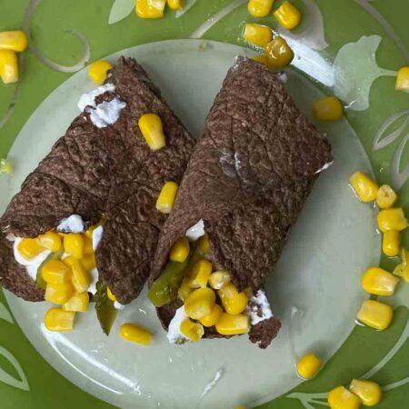 zdrave lanene tortilje