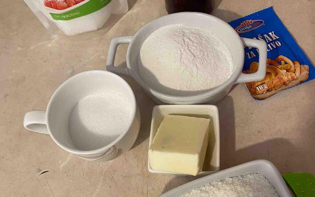 kokos kolači sastojci